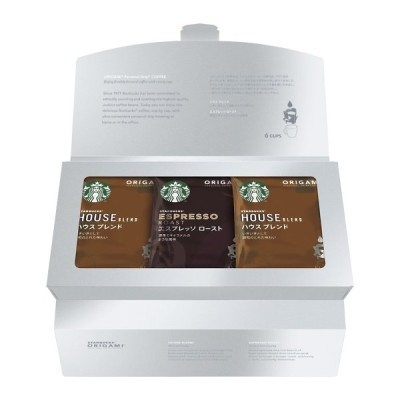 スターバックス オリガミ パーソナルドリップコーヒーギフト SB-10S