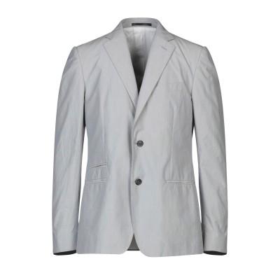 マウロ グリフォーニ MAURO GRIFONI テーラードジャケット ライトグレー 52 コットン 100% テーラードジャケット