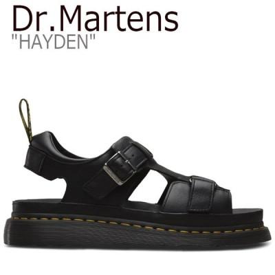 ドクターマーチン サンダル Dr.Martens メンズ レディース HAYDEN ハイデン BLACK ブラック 24625001 シューズ