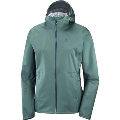 サロモン レディース ジャケット・ブルゾン アウター Salomon Women's Lightning Waterproof Jacket Balsam Green