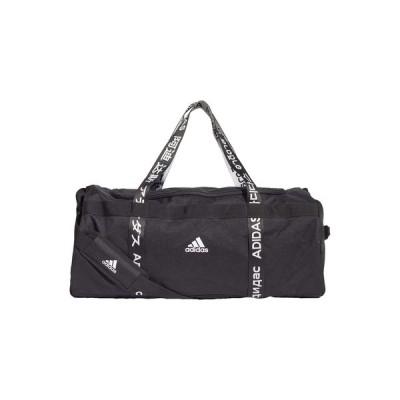 アディダス ショルダーバッグ メンズ バッグ 4ATHLTS 3 STRIPES DUFFEL BAG - Sports bag - black
