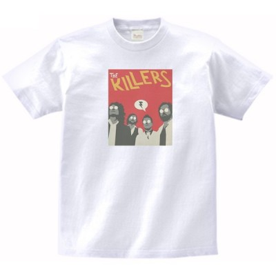 The KILLERS 音楽・ロック・シネマ Tシャツ
