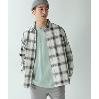 シャツ ブラウス タータンチェックシャツ/871545