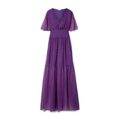 EYWASOULS MALIBU ビーチドレス パープル M/L ポリエステル 100% ビーチドレス