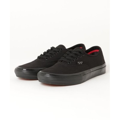 BEAMS MEN / VANS / Skate Authentic Black MEN シューズ > スニーカー