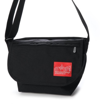 マンハッタンポーテージ Manhattan Portage Casual Messenger Bag JR NYC Print 2020SS (Black)
