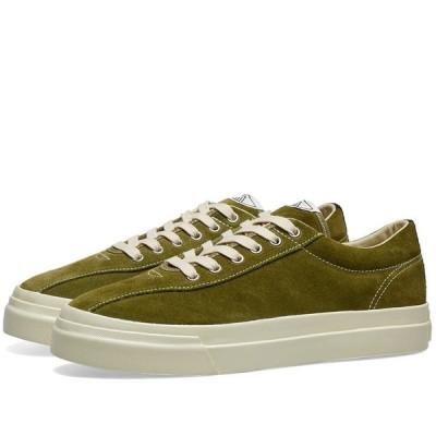エス ダブリュー シー Stepney Workers Club メンズ スニーカー シューズ・靴 Dellow Suede Sneaker Military