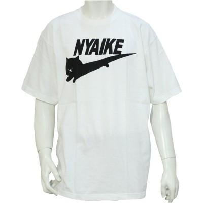 ニャイキ 半袖 Tシャツ ブランド パロディー おもしろ メンズ レディース ユニセックス