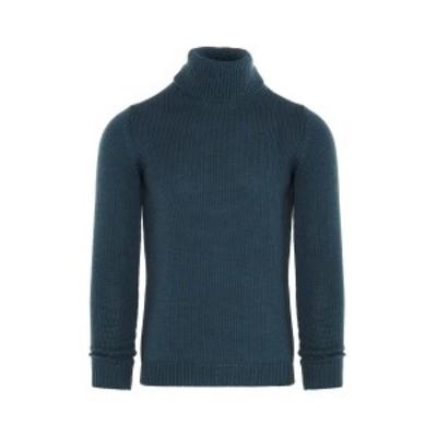 ROBERTO COLLINA/ロベルト コリーナ セーター Blu メンズ 春夏2020 RD02003RD0214 ju
