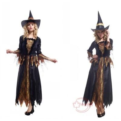 万聖節 ハロウィン コスプレグッズ セット キャラクター Halloween 巫女 レディース cosplay仮装 大人用 ウィッチ 帽子付き コスチューム 舞台衣装 イベント