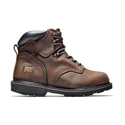 Timberland PRO メンズ 6インチ ピットボス スチールトゥー US サイズ: 24 カラー: ブラウン