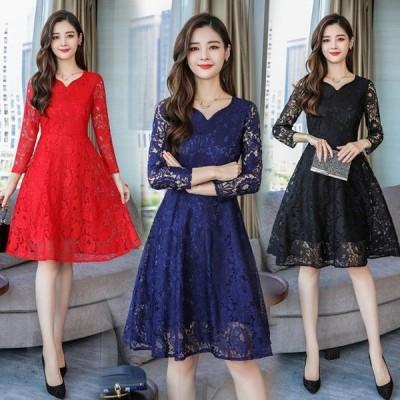 パーティードレス レディースドレス 花柄 薔薇 ドレス レディース 大きいサイズ お呼ばれ 二次会 パーティー 舞踏会 m18