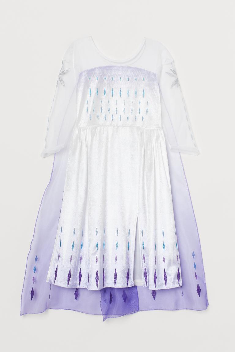 H & M - 冰雪奇緣化裝舞會道具服 - 紫色