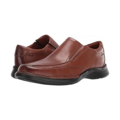 Clarks クラークス メンズ 男性用 シューズ 靴 ローファー Kempton Free - Tan Leather