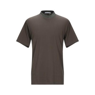 LOW BRAND T シャツ ミリタリーグリーン 1 コットン 100% T シャツ