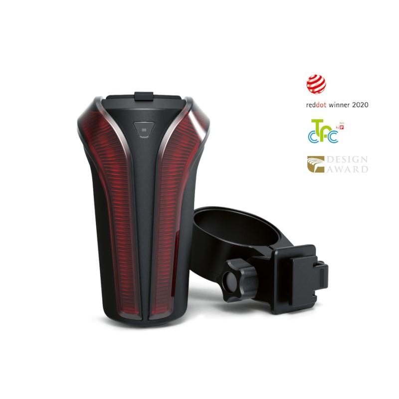 DOSUN LR80 光感應智慧式自行車尾燈/後燈-崇越單車