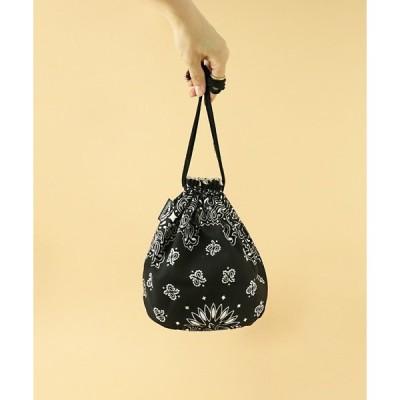 エコバッグ バッグ 【 HAV-A-HANK / ハバハンク 】BANDANNA  DRAWSTRING BAG バンダナ 巾着バッグ