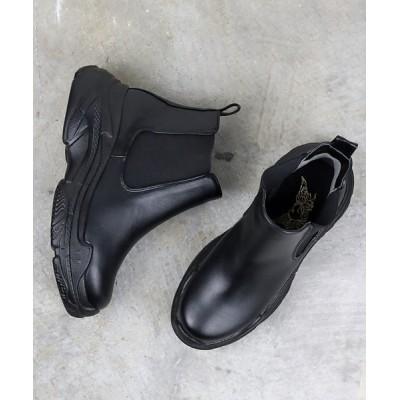 ZealMarket/SFW / 厚底スニーカーライク サイドゴアブーツ WOMEN シューズ > ブーツ
