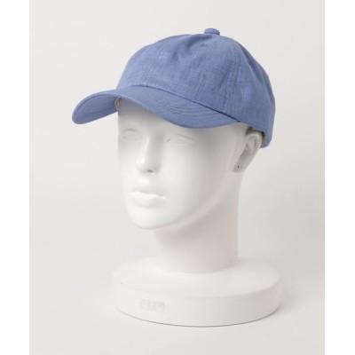 FUNALIVE / 【SI ORIGINAL】SFrench Linen CAP フレンチリネン無地キャップ womens WOMEN 帽子 > キャップ