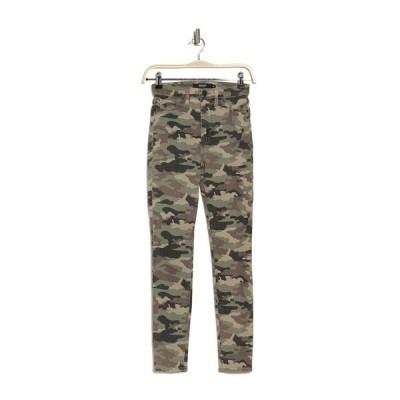 ハドソンジーンズ レディース デニムパンツ ボトムス Barbara High Waist Super Skinny Jeans WORN CAMO