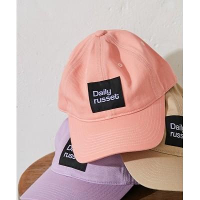 Daily russet / コットンロゴ キャップ WOMEN 帽子 > キャップ