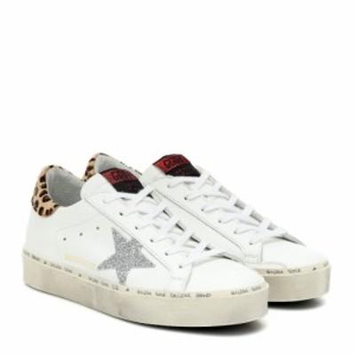 ゴールデン グース Golden Goose レディース スニーカー シューズ・靴 Hi Star leather sneakers MYT-White Leather-Leo Pony-Cry