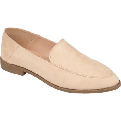 ジュルネ コレクション Journee Collection レディース スリッポン・フラット シューズ・靴 Comfort Foam(TM) Tenley Flat Beige