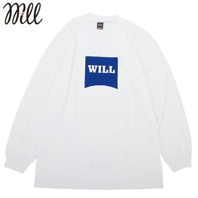 WILL W-STAR LS TEE ウィル 長袖 Tシャツ (2色展開)