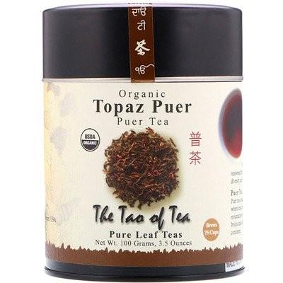 100% オーガニック・プーアル茶、トパーズ・プーアル、 3.5 オンス (100 g)