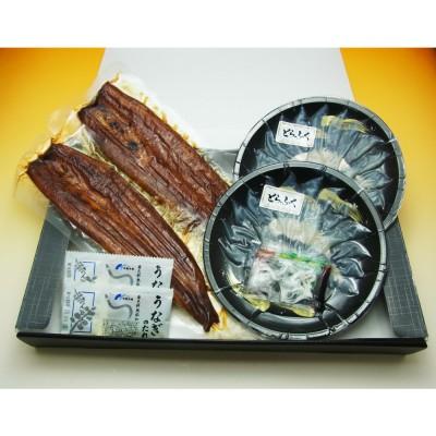 中島水産 【高島屋オリジナル】八本木樽醤油うなぎ蒲焼・とらふぐ刺身セット