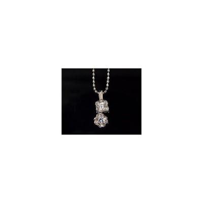 K18 ダイヤモンド 0.125ct フラワー ペンダント トップ 4月誕生石 アクセサリー