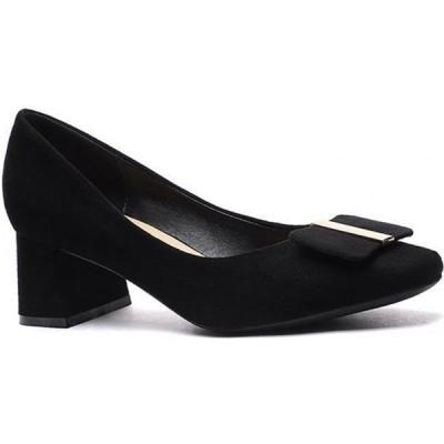 トゥエンティーエイトシューズ Twenty Eight Shoes レディース パンプス シューズ・靴 Square Buckle Pumps 1270-44 black