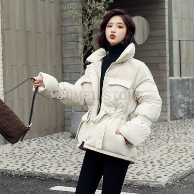 中綿ダウンコートレディース40代ショート軽い冬服厚手アウター中綿コート中綿ジャケットダウン風コート立ち襟チュニック暖かい大きいサイズ防寒