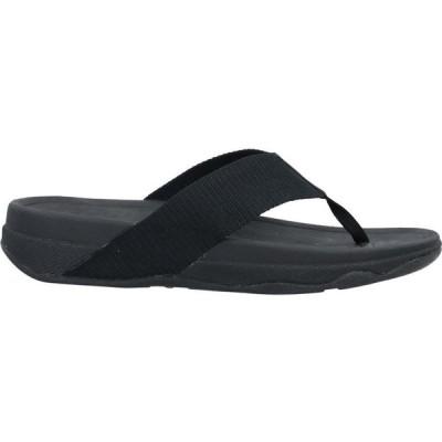 フィットフロップ FITFLOP メンズ ビーチサンダル シューズ・靴 flip flops Black