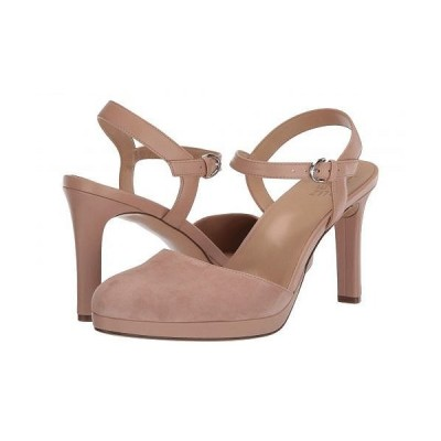 Naturalizer ナチュラライザー レディース 女性用 シューズ 靴 ヒール Tulip - Barely Nude Suede/Leather