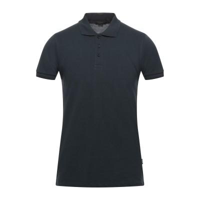 LIU •JO MAN ポロシャツ ダークブルー S コットン 100% ポロシャツ