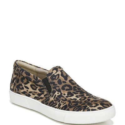 ナチュライザー レディース スニーカー シューズ Marianne Cheetah Print Leather Slip-On Sneakers Brown Cheetah