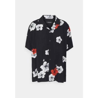 メンズ ファッション RESORT HAWAIIFLOWER - Shirt - black