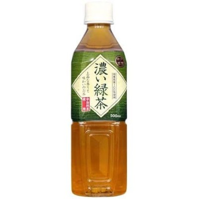神戸茶房 濃い緑茶 (500ml*24本入)