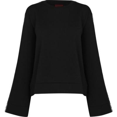 ヒューゴ ボス Hugo レディース ニット・セーター トップス Dalara Crew Sweater Black