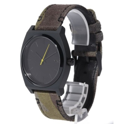 【NIXON】 Time Teller ユニセックス Black / Camo / Volt F(フリー) NIXON