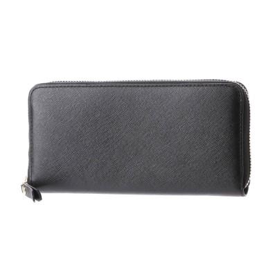エコー ECCO Iola Large Zip Wallet (BLACK)