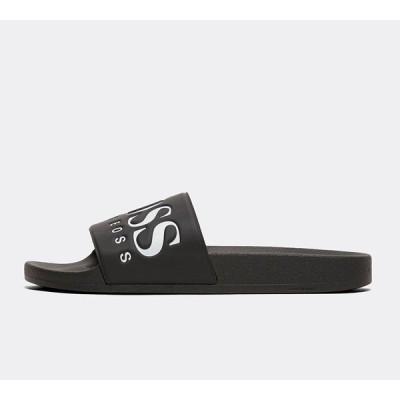 ヒューゴ ボス BOSS メンズ サンダル シューズ・靴 solar slide Black