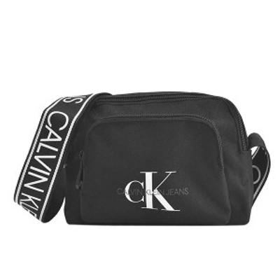 カルバンクライン 斜め掛けバッグ CALVIN KLEIN  K60K606868 CAMERA BAG W/PCKT BDS BLACK    比較対照価格14,300円