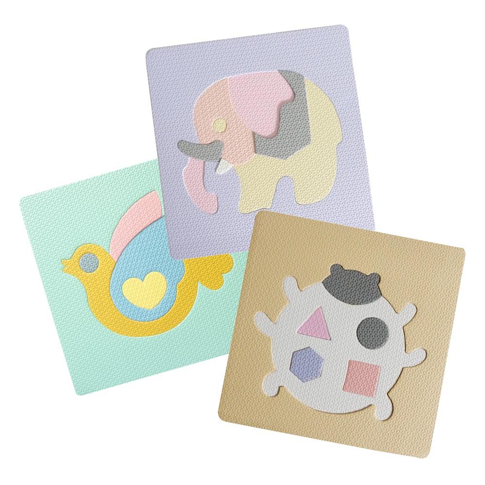 【Pato Pato】益智EVA動物造型拼圖 |厚度2cm |隨機出貨|大象拼圖|鴿子拼圖|瓢蟲拼圖|SGS認證