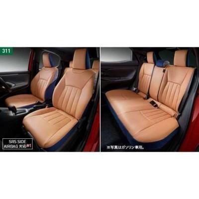 ヤリス MODELLISTA シートカバー  トヨタ純正部品 MXPH10 MXPA10 KSP210 MXPA10 パーツ オプション