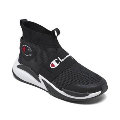 チャンピオン スニーカー シューズ メンズ Mens Rally Pro XG Casual Sneakers from Finish Line Black