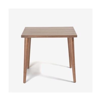 IDC大塚家具 [幅800]ダイニングテーブル 「ユノ3」 ウォールナット材 丸脚