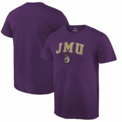 Fanatics Branded ファナティクス ブランド スポーツ用品  Fanatics Branded James Madison Dukes Purple Campus T-Shi