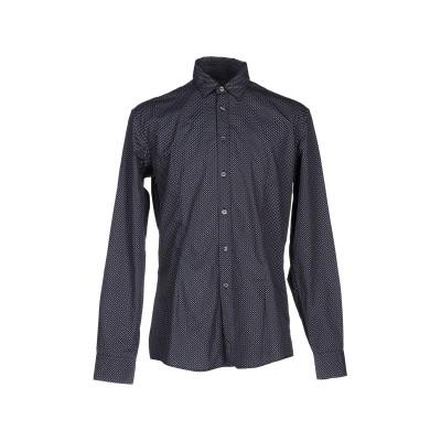 グレイ ダニエレ アレッサンドリーニ GREY DANIELE ALESSANDRINI シャツ ブラック 40 コットン 100% シャツ